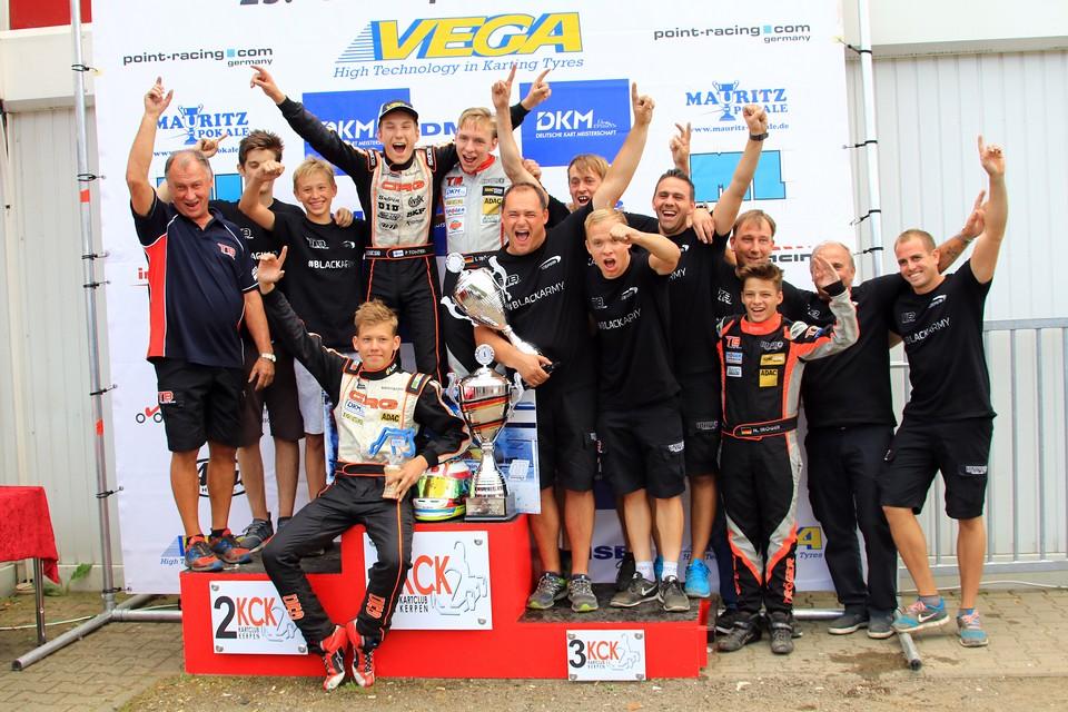 Große Ehrung für CRG TB Racing Team bei DKM in Kerpen