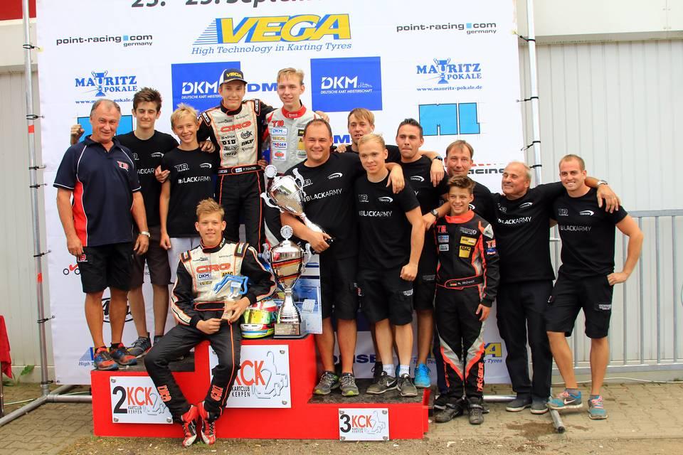 CRG TB Racing Team räumt 2016 ab
