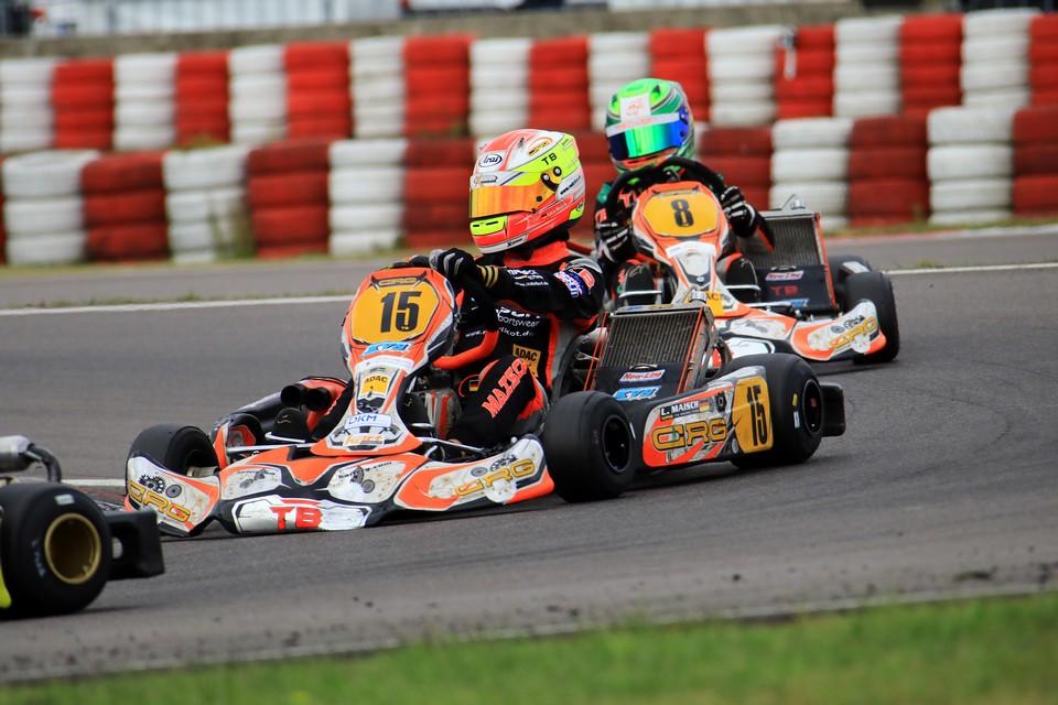 Luca Maisch feiert Meistertitel im ADAC Kart Masters