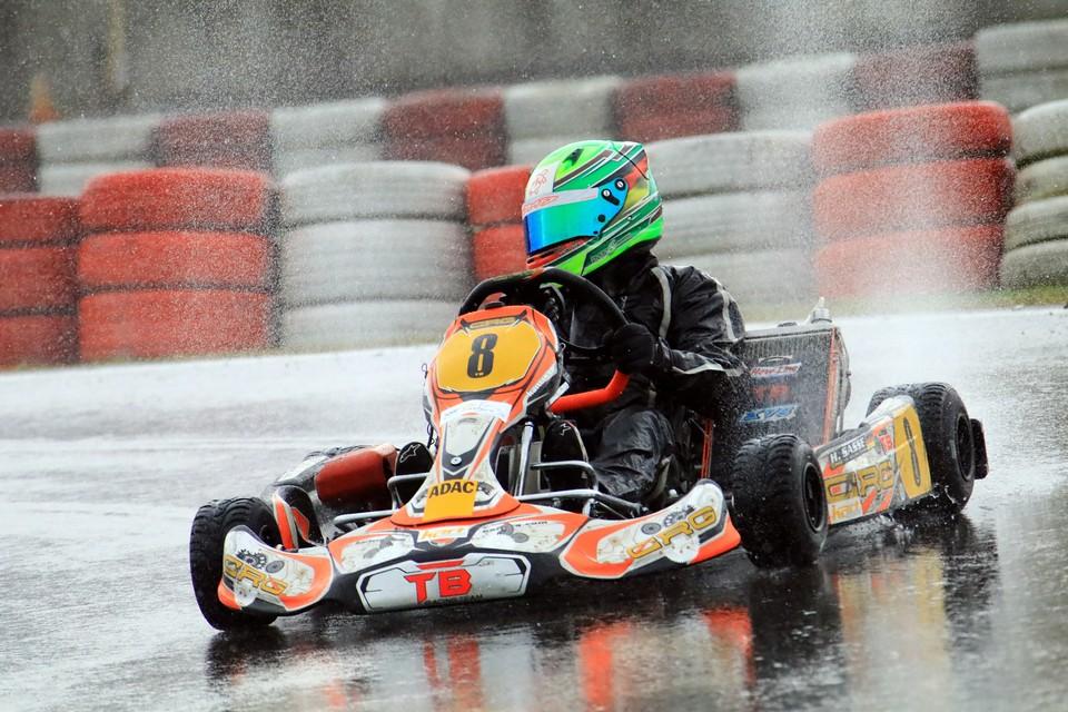 Hugo Sasse: Vizemeister im Debüt-Jahr beim ADAC Kart Masters