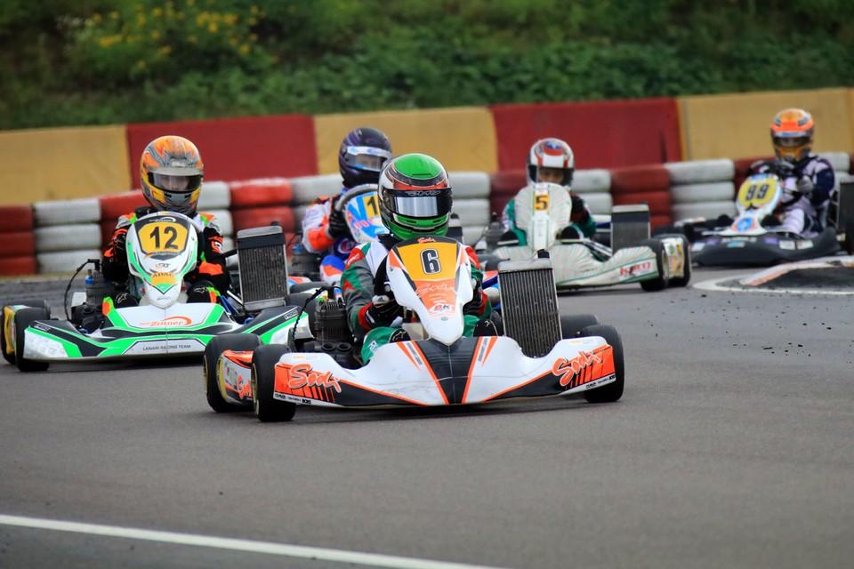 Marek Schaller gewinnt Meistertitel im ADAC Kart Masters