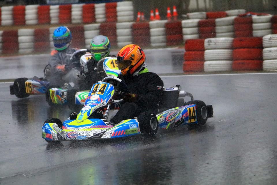 Dritter Platz für CV Racing im ADAC Kart Masters