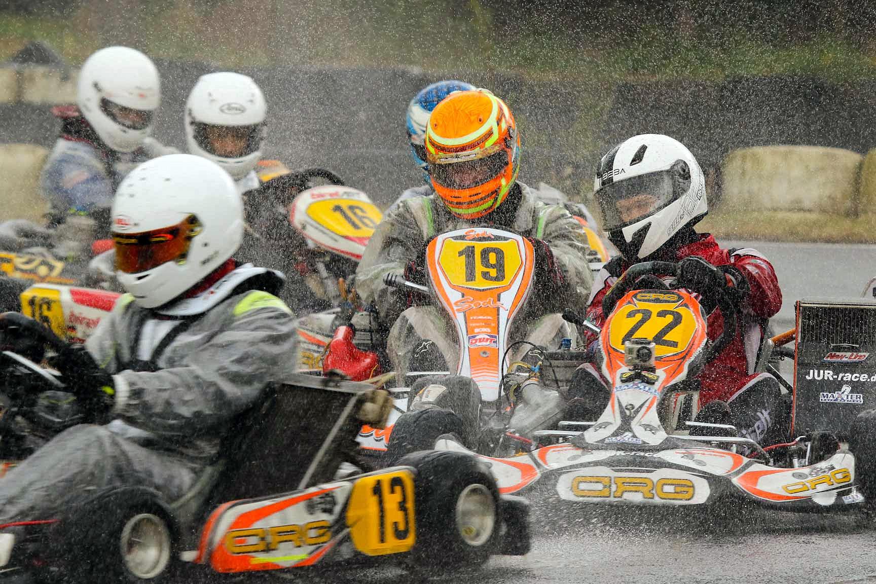 Wetterkapriolen sorgen für spannendes WAKC-Finale in Schaafheim