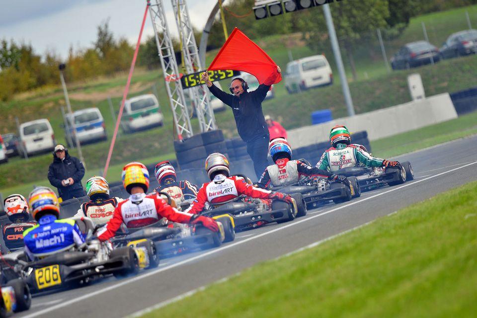 Halbfinale in der Deutschen Kart Meisterschaft