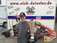 Nick Deissler wird Doppelmeister