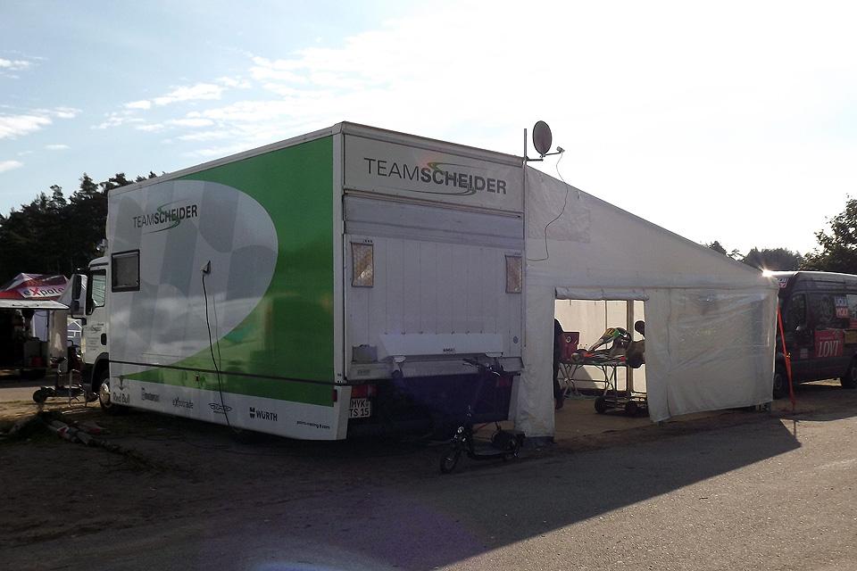 Kartteam Timo Scheider in Wackersdorf wieder erfolgreich