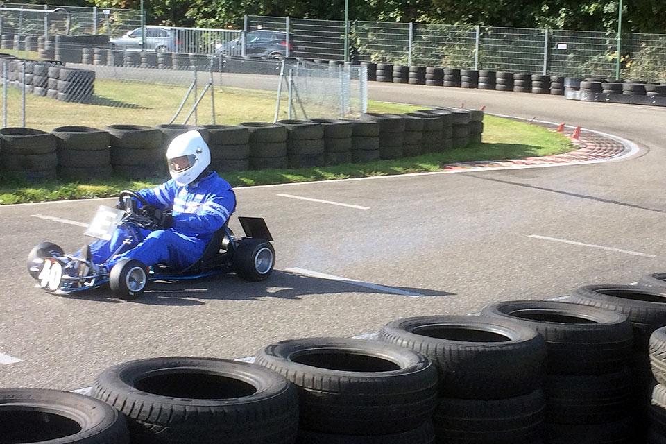 Sonniger Abschluß in Teningen: Marco Wirths ist  Klassik Kart Champion