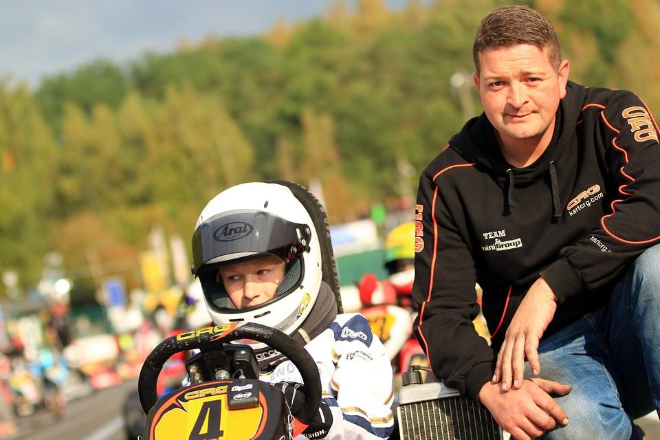 Paul Enders: Meister im ADAC Kart Masters