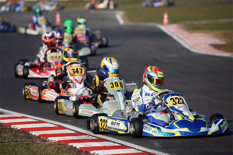 Niklas Krütten in den Pokalrängen bei Trofeo delle Industrie