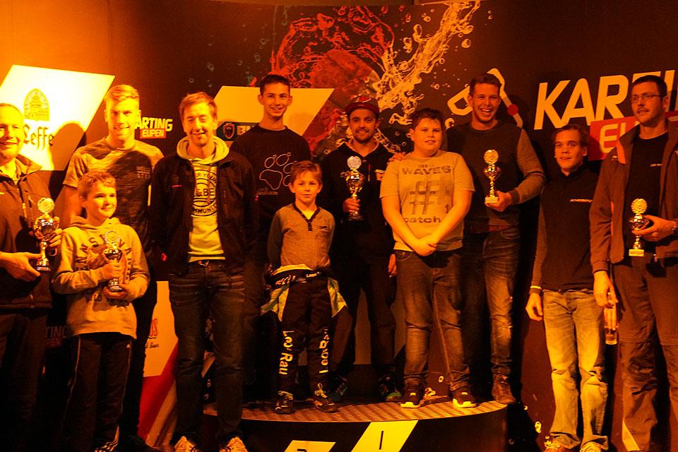 Fahrer des SFG Schönau und des KCBB liefern sich spannendes Rennen um Herbstpokal in Eupen