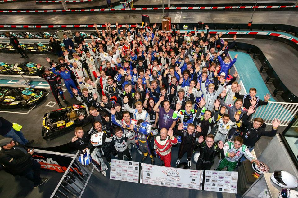 VLN-Fanpage Kartevent feiert gelungene Premiere im Karting Eupen