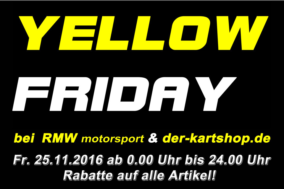 Yellow-Friday bei RMW