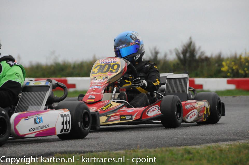 Luis Esser holt Tagessieg beim Saisonfinale der GK4 Kart Series in Genk