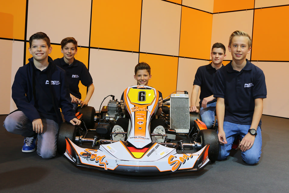 ADAC Stiftung Sport fördert fünf Kartfahrer