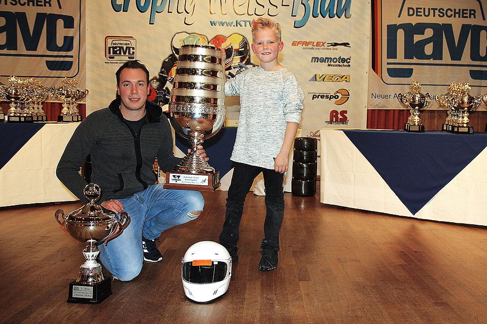 "Maxim Rehm gewinnt ""Sebastian-Vettel-Wanderpokal"""