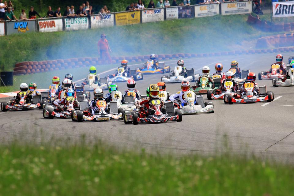 Start der Einschreibung in den ADAC Kart Cup