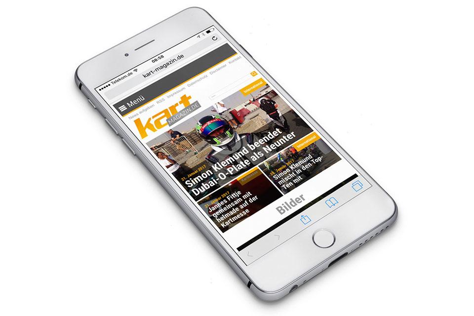 Kart-Magazin.de goes mobile