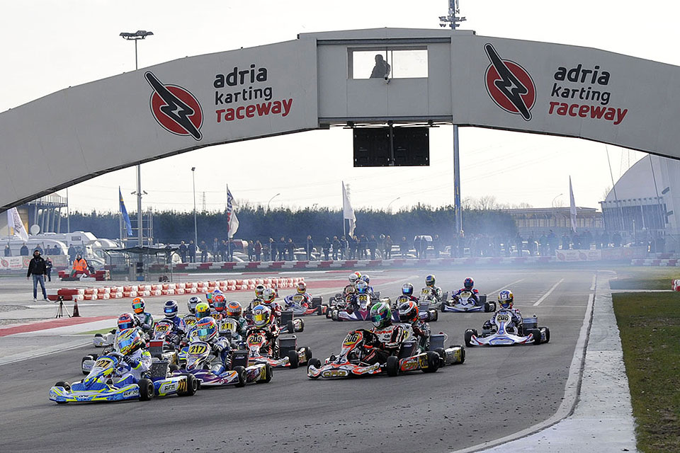 Startschuss in Adria: Auftakt des WSK Champions Cup