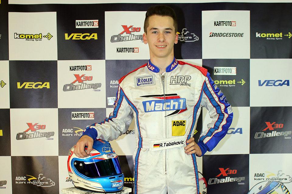 Ronny Tabakovic gewinnt Mach1- / LS-Kart Sportstrophy