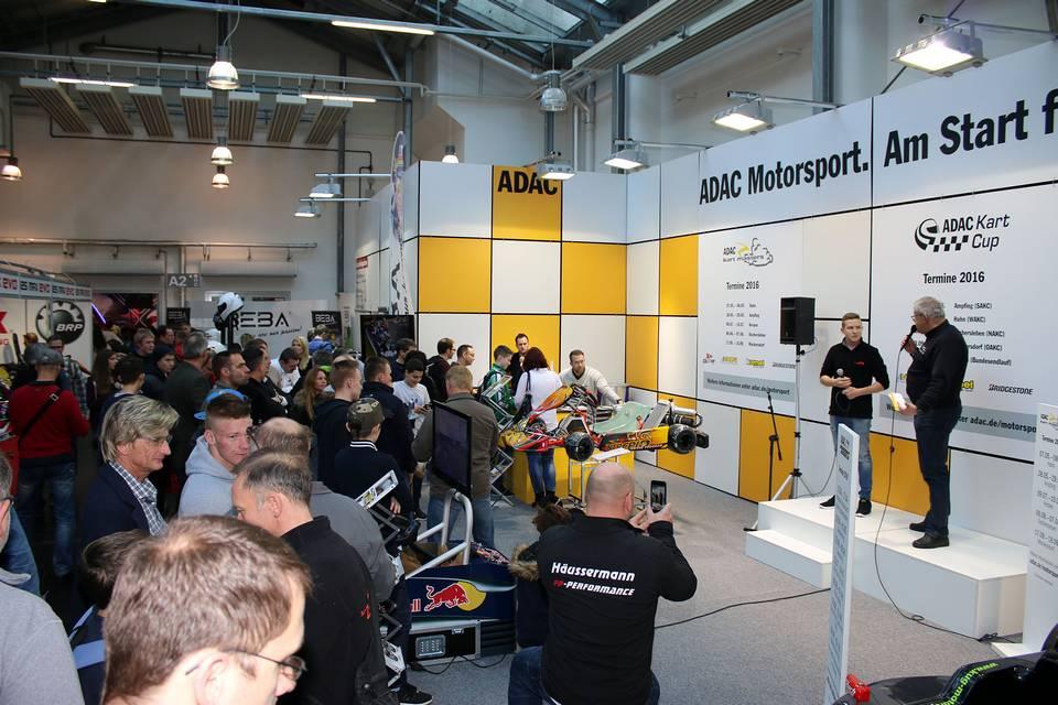 ADAC Motorsport auf der IKA Kart 2000 in Offenbach
