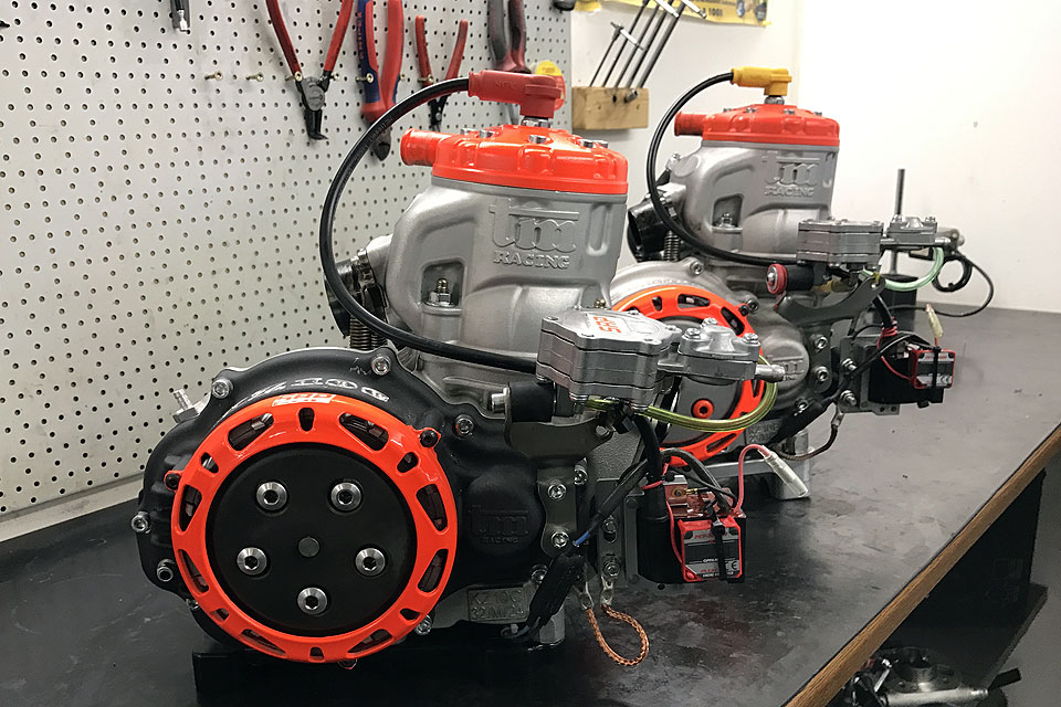 SRP Racing arbeitet ab sofort mit TM Motoren