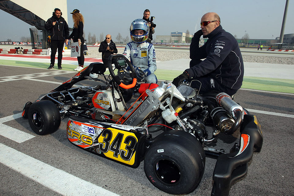 RL-Competition: Marius Zug mischt die WSK Serie in Adria auf