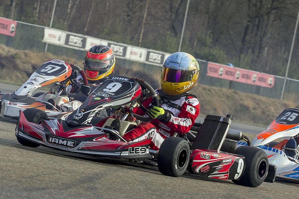 Luis Esser: Beim ersten Rennen des Jahres auf dem Podium