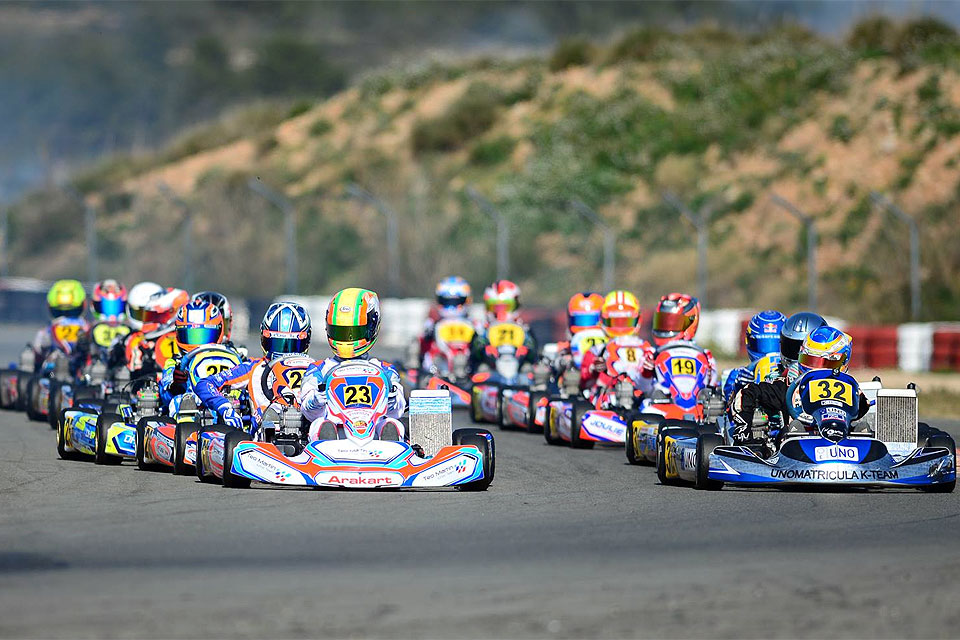 Runde Premiere des X30 Winter Cups