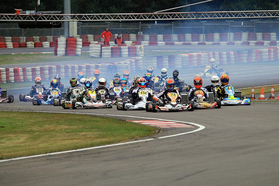 ADAC Kart Masters auch zwei Mal in Wackersdorf