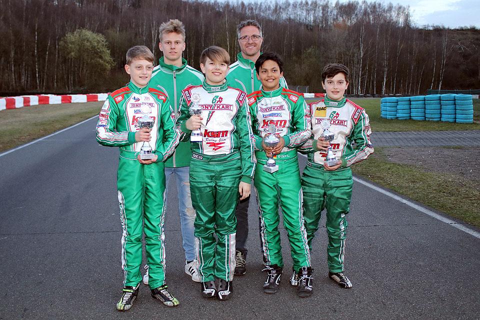 Erfolgreicher Winterpokal für KSM Schumacher Racing Team
