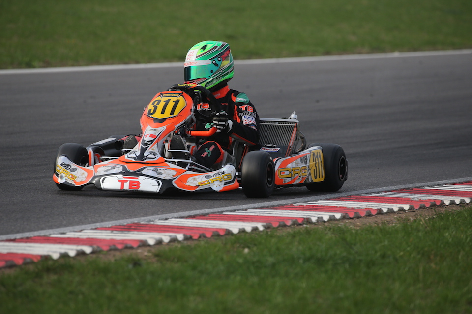 CRG TB Racing Team mit guter Lonato-Performance