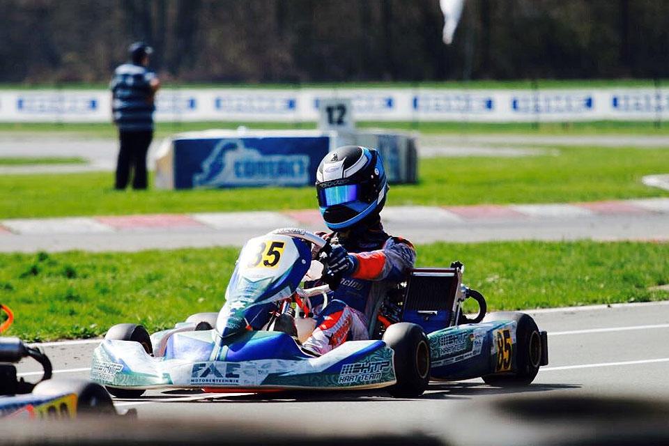 HTP Kart Team holt bei ASAF Karting Series ein Podium