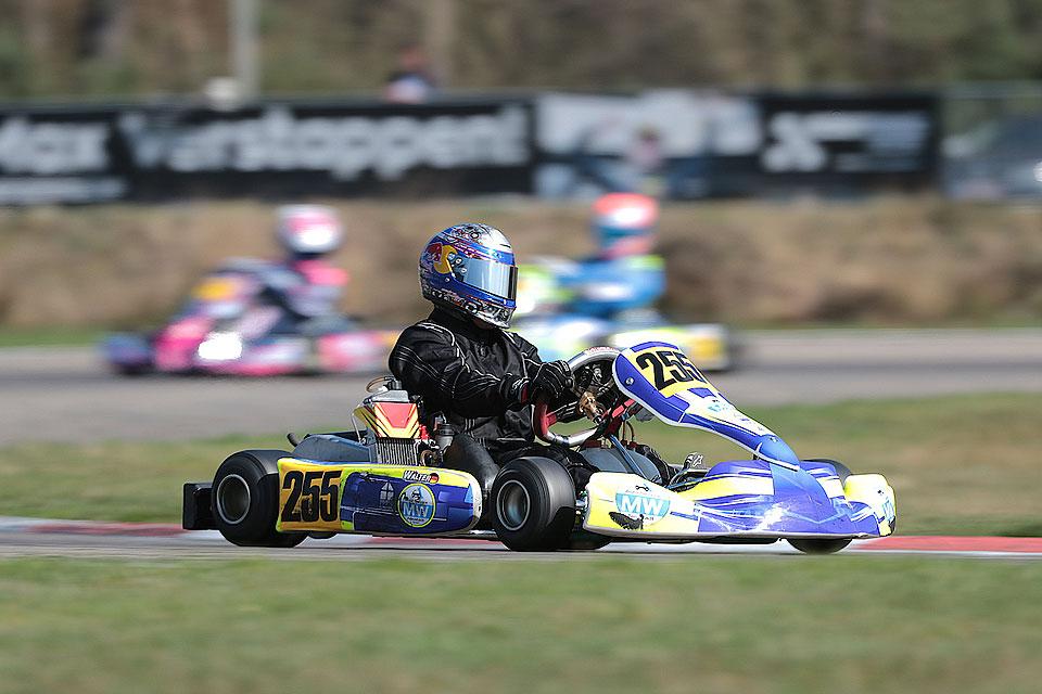 Andre Walter mit starker Leistung bei der Rotax Max Euro Challenge
