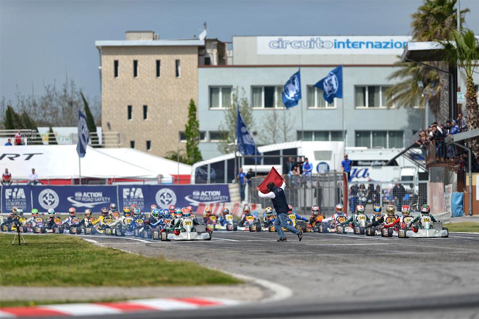 Start der Europameisterschaft in Sarno
