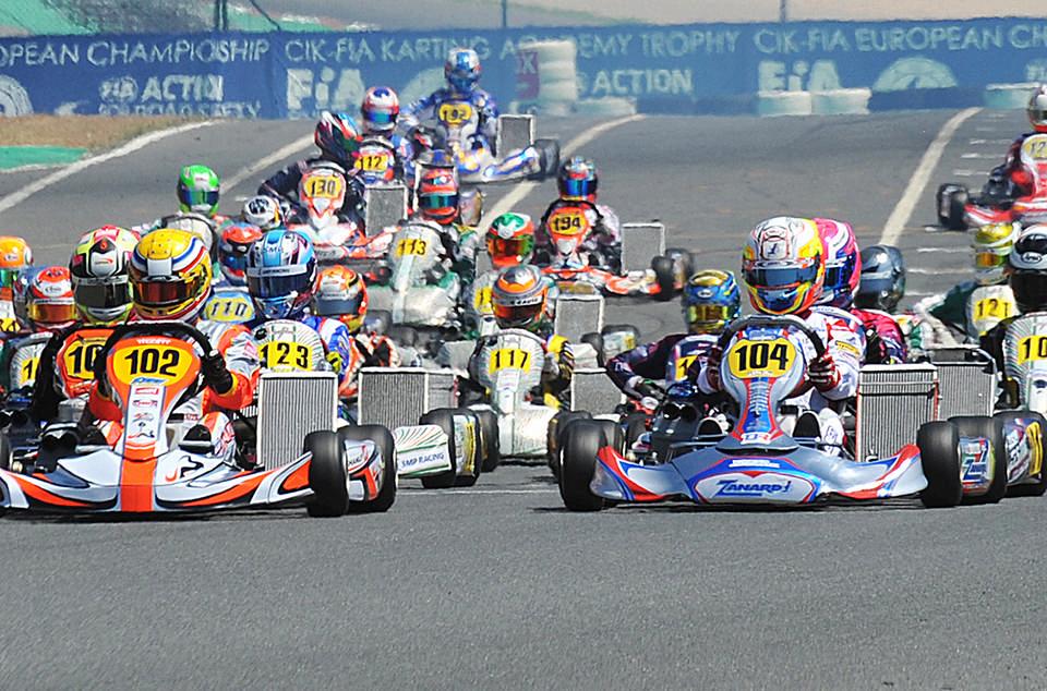 CIK-FIA Europameisterschaft Sarno (ITA)