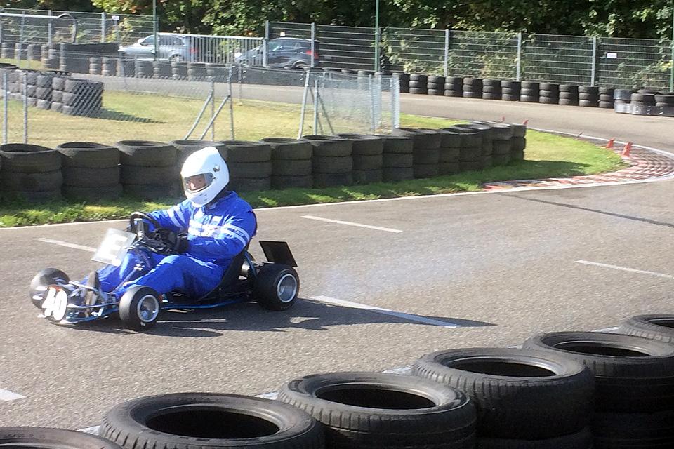 Klassik Kart Meisterschaft geht in Teningen in Runde zwei