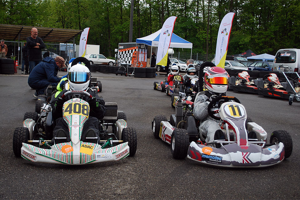 ACV Baden-Württemberg Kart-Cup-Premiere in Teningen