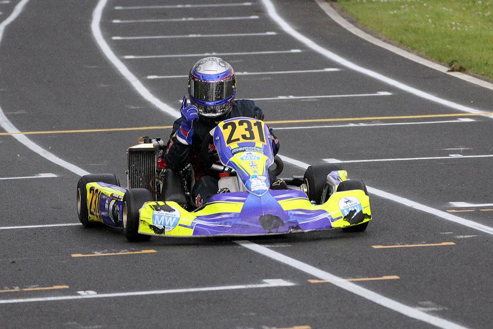 Laufsieg für Kart Performance Racing in Wittgenborn