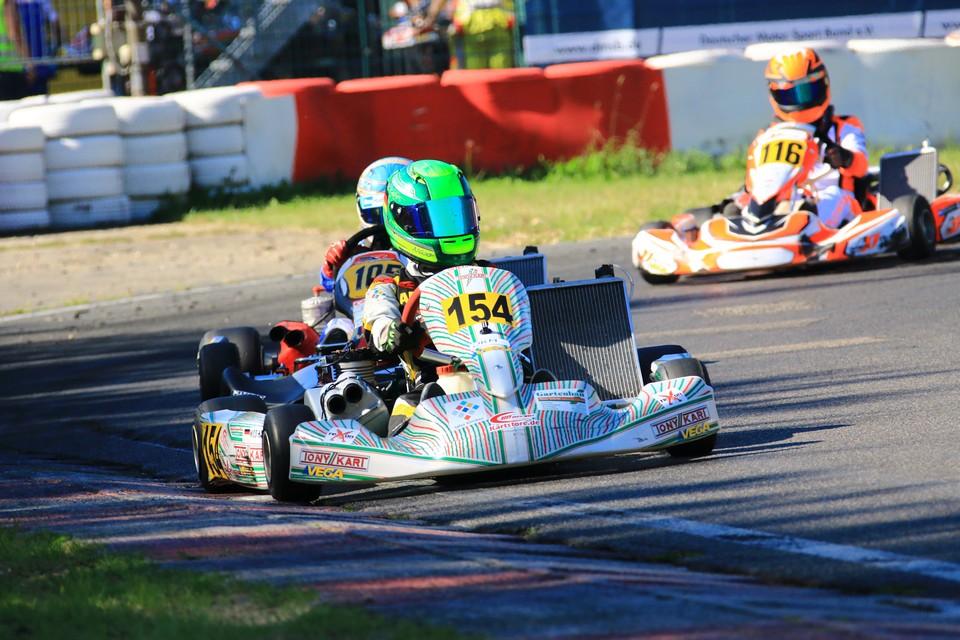 Nico Hantke feiert Debüt in der Deutschen Meisterschaft