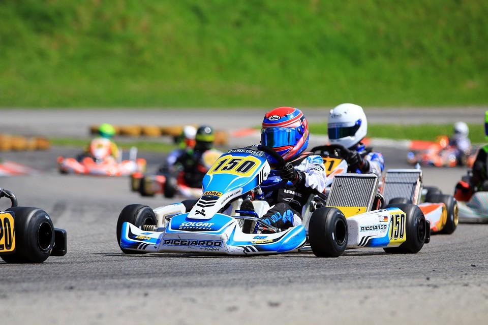 Rico Volz mit Meisterschaftspunkten beim DJKM-Debüt