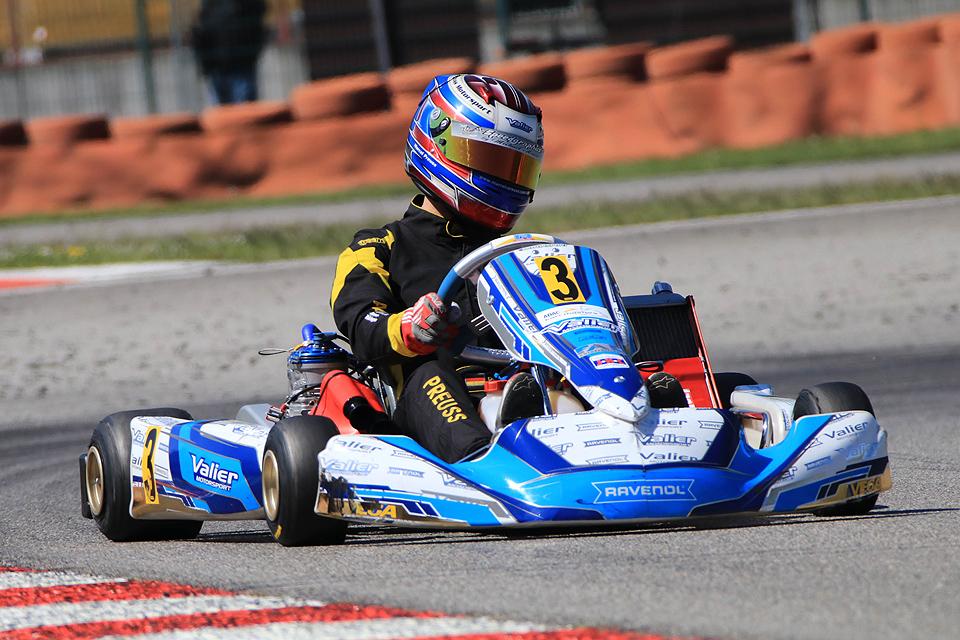 Valier Motorsport-Newcomer fährt in die Top-Ten