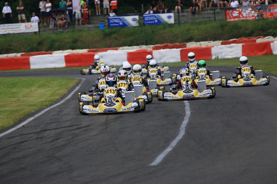 Gelungenes Debüt der ADAC Kart Academy in Kerpen