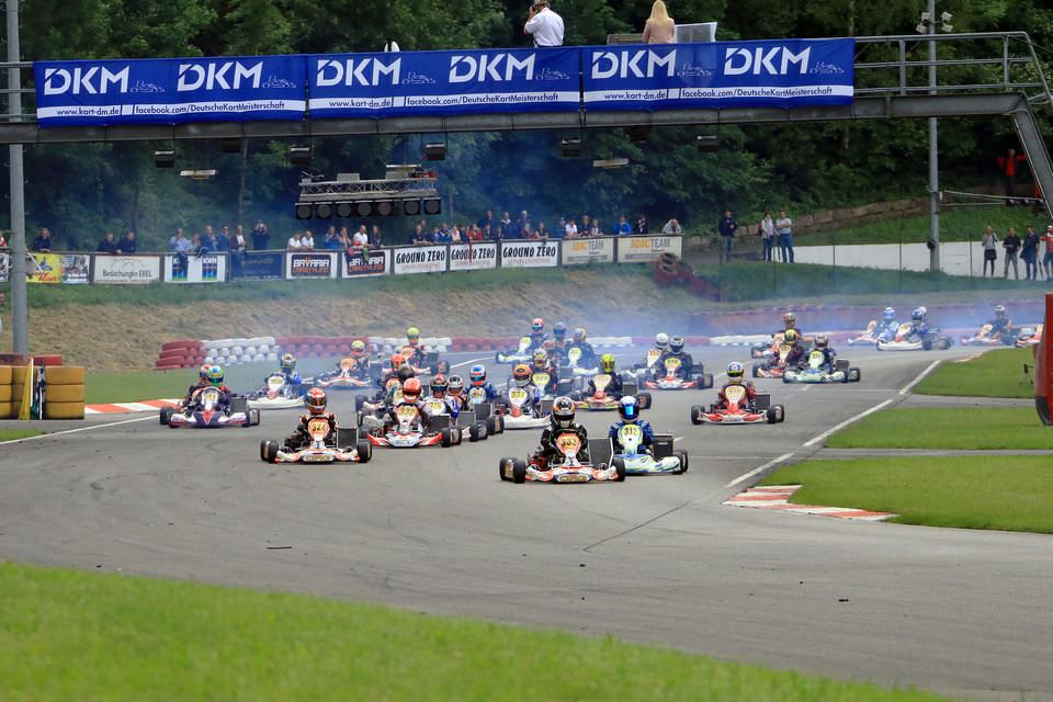 Deutsche Kart Meisterschaft startet mit Rekordfeld ins Jahr