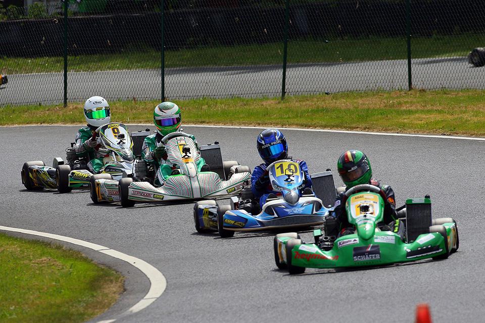 RMW Motorsport dominiert den Westdeutschen ADAC Kart-Cup in Wittgenborn