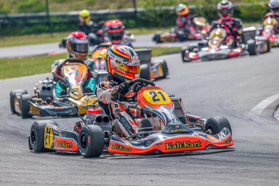 Verdienter erster Pokal für Emilien Denner in Wittgenborn