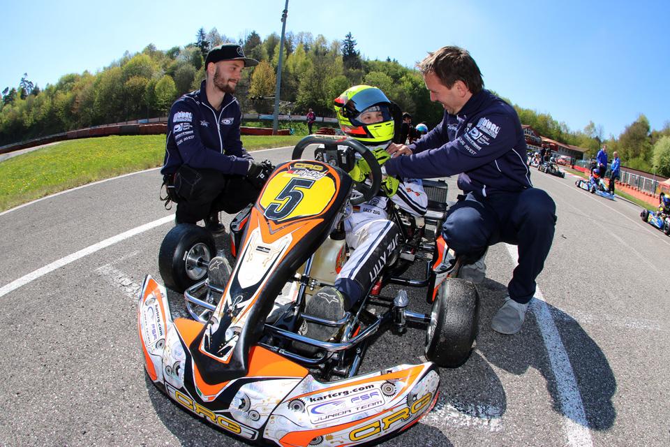 ADAC Kart Cup: RL Piloten dominieren in der Bambini Klasse