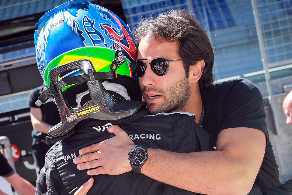 Ex-Formel-1-Pilot Felipe Nasr startet im ADAC Kart Masters