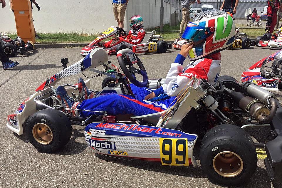 Gute Performance von DS Kartsport in Wackersdorf