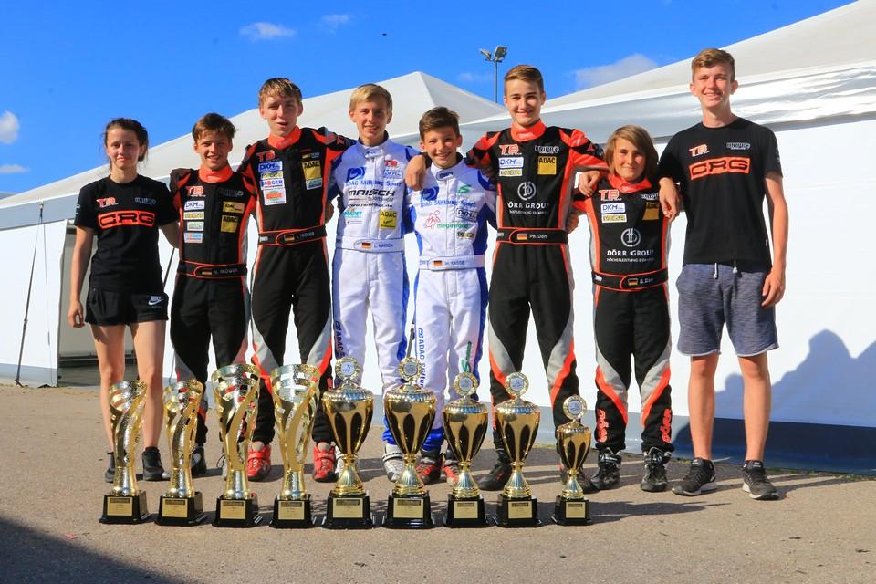 CRG TB Racing Team: Siege und Pokale in Wackersdorf