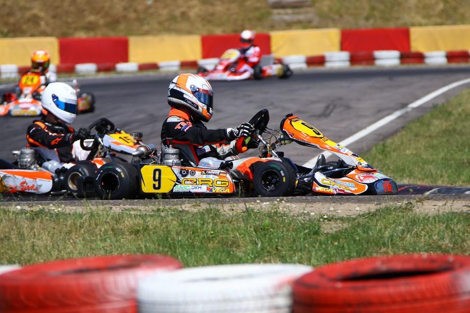 Niels Tröger gewinnt beim ADAC Kart Masters in Wackersdorf